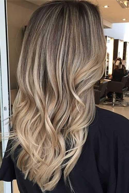 Dark Blonde Long Hair Ideas