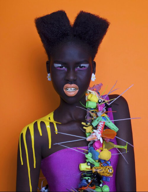 peinados cortos y nerviosos para mujeres negras