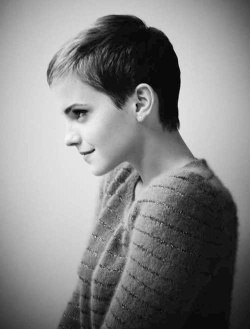 Peinado de Emma Watson Pixie