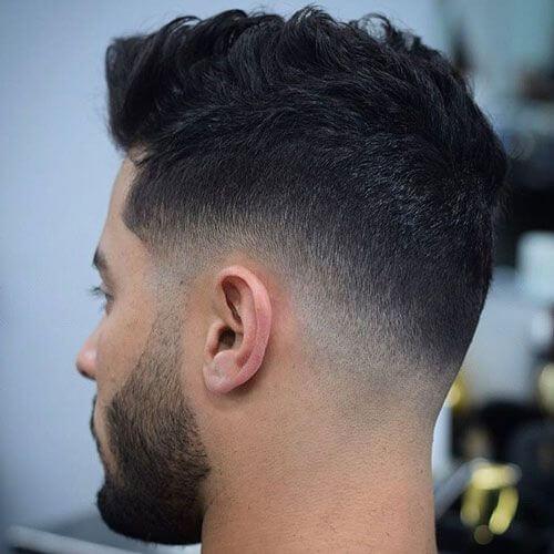 Cortes de cabello con bajo desvanecimiento