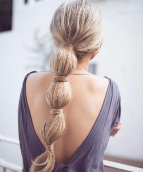 jumbo burbuja trenza peinados largos