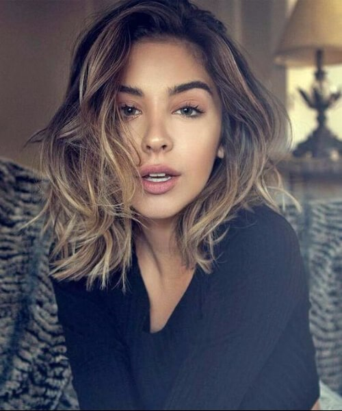 excelentes peinados de longitud media