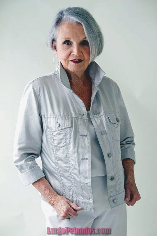 Peinados cortos para mujeres mayores (2)