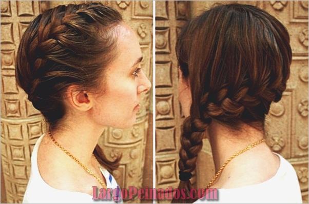 Peinados trenzados simples para cabello largo (45)