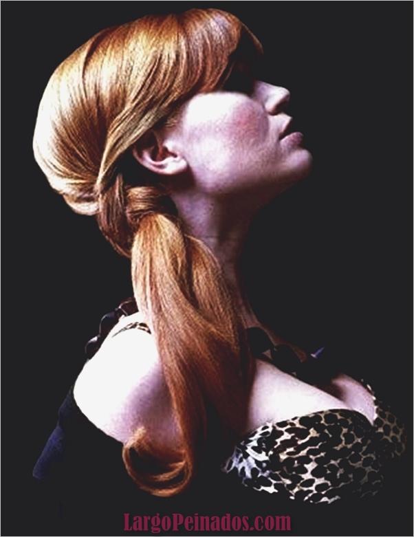 Peinados de cola de caballo laterales atractivos para niñas (21)