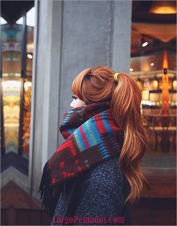Ideas populares para el color del cabello en otoño (2)