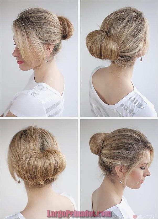 Peinados Easy Bun para Mujeres (8)
