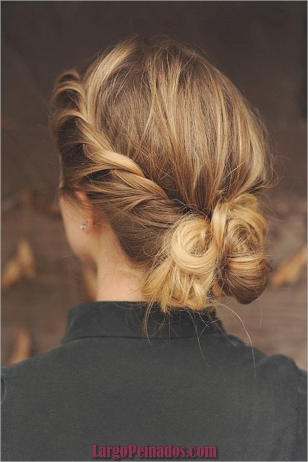 Peinados de Bollo Fácil para Mujeres (4)
