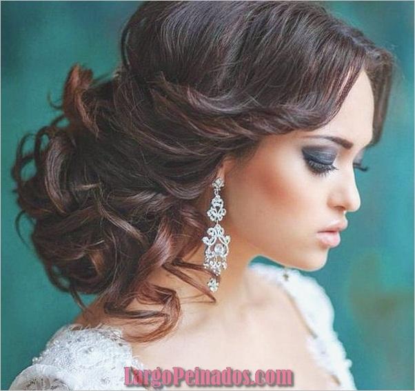 Peinados de novia para cabello largo y corto8
