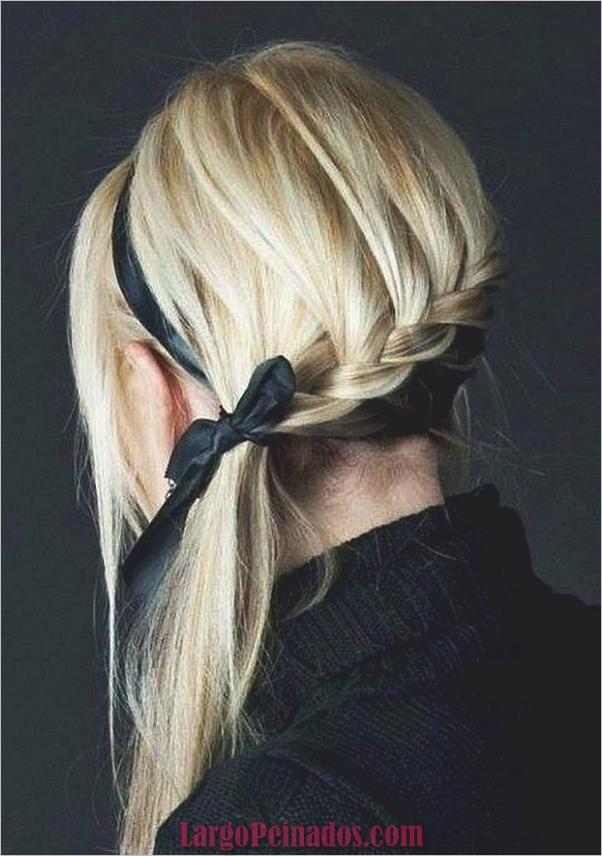 Peinados de cola de caballo laterales atractivos para niñas (8)