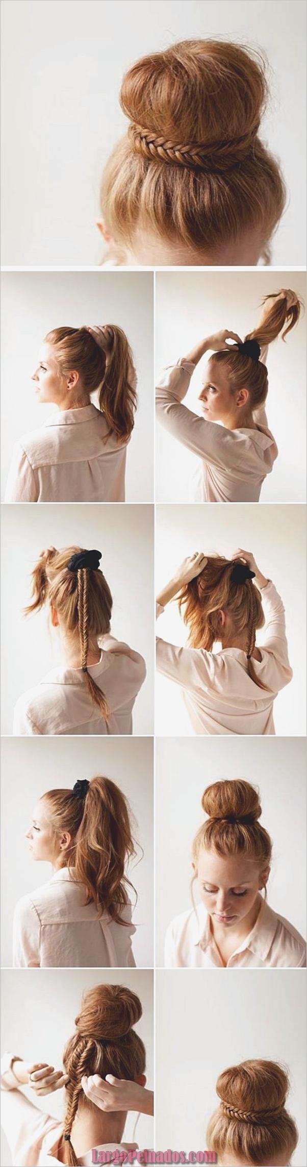 Peinados fáciles paso a paso para cabello largo2
