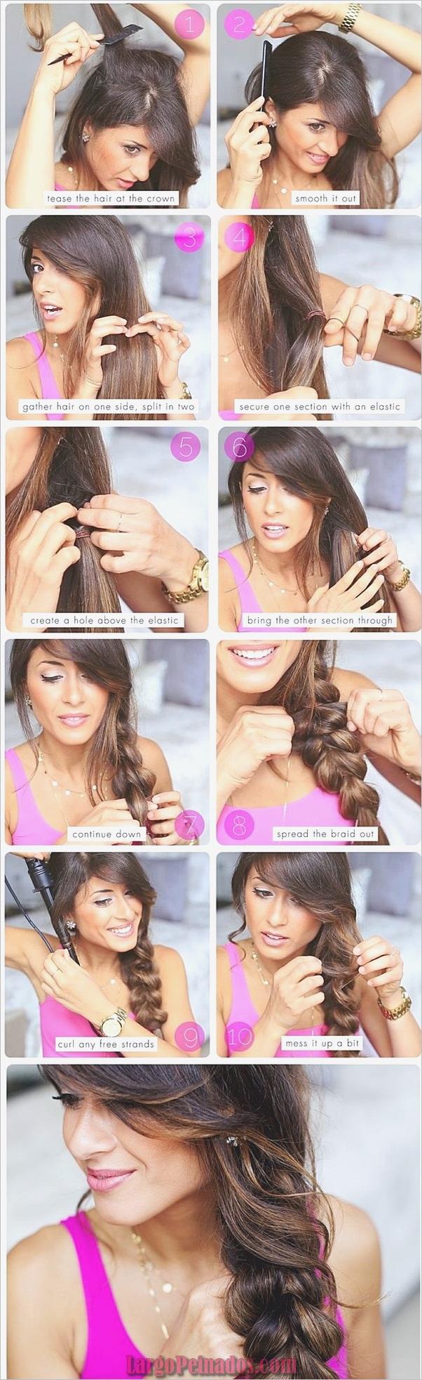 Peinados simples de cinco minutos (9)