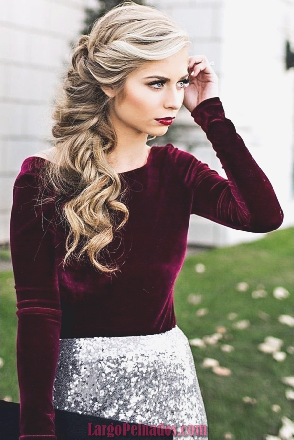 peinados de fiesta para cabello largo-30