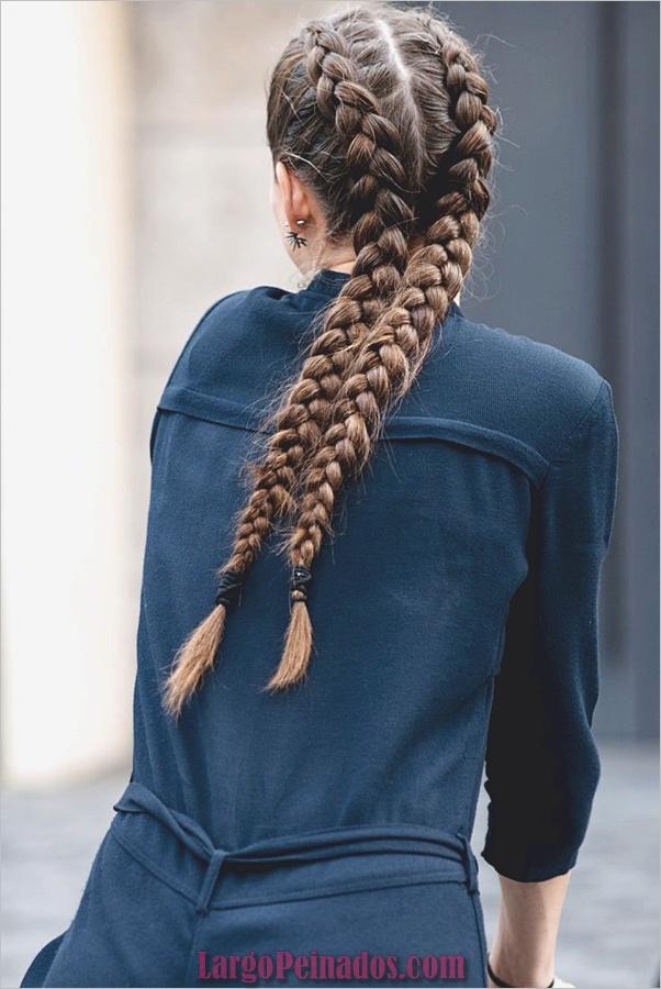 Peinados de primavera para cabello largo y mediano (19)
