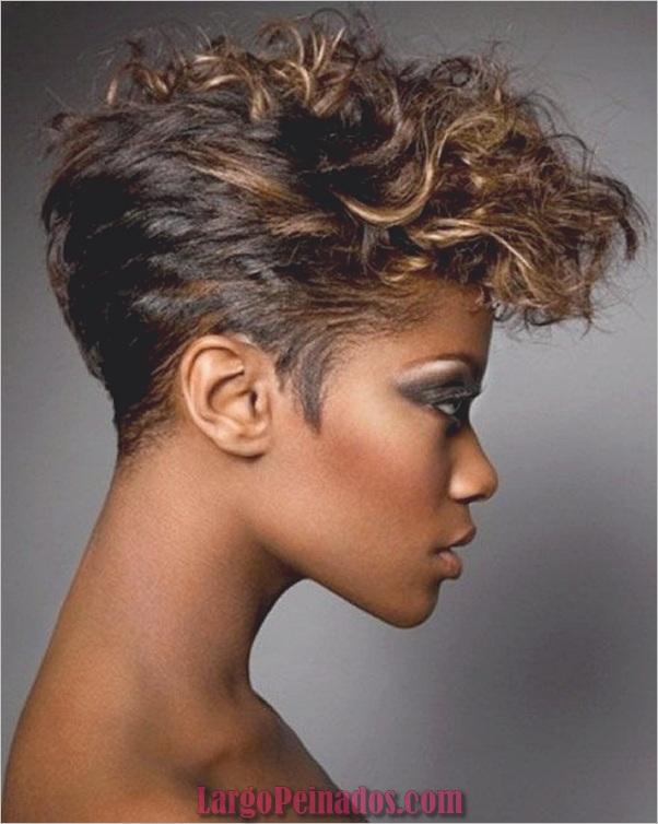 Peinados Rizados Cortos para Mujer Negra (7)