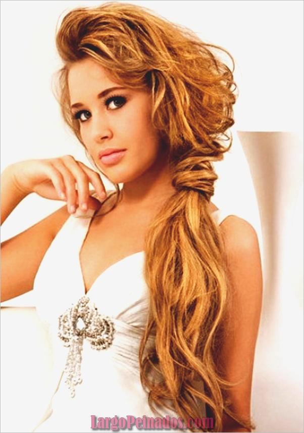 Peinados de cola de caballo laterales atractivos para niñas (1)