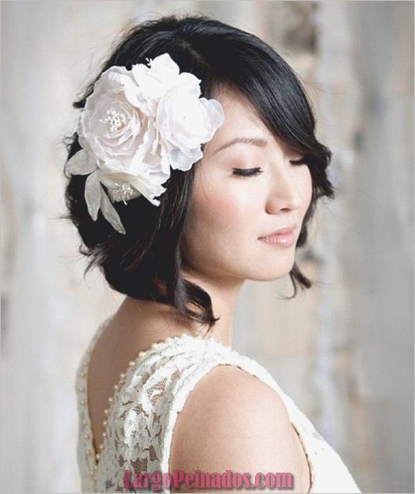Peinados de novia para el pelo largo y corto12