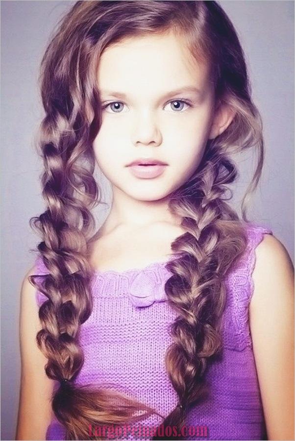 Últimos peinados simples para niñas para la escuela (10)