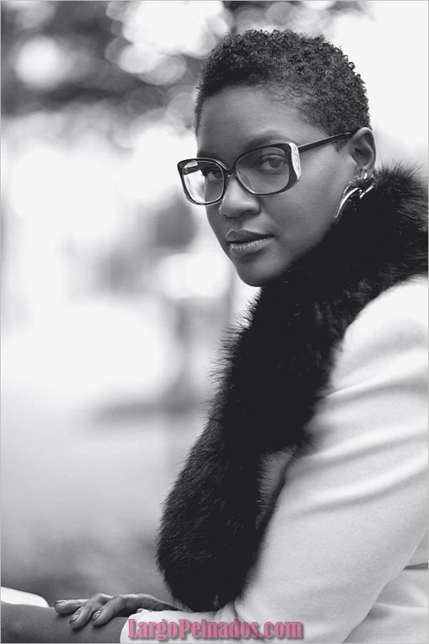 Peinados Rizados Cortos para Mujer Negra (3)