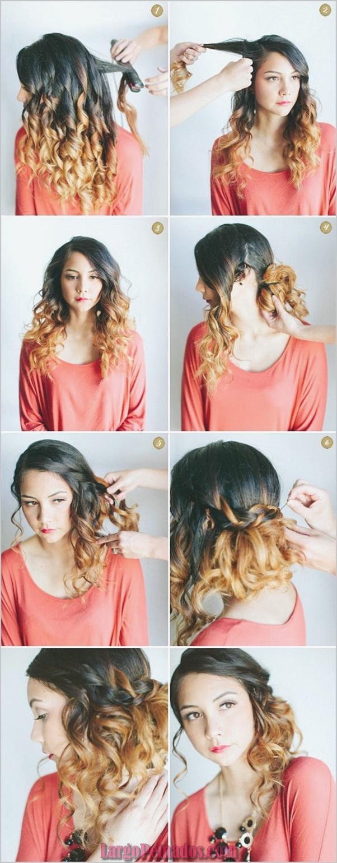 Minimalista peinados para niñas faciles paso a paso Colección de ideas de color de pelo - 35 Peinados paso a paso fáciles y rápidos para niñas ...