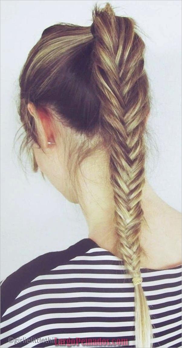 42 Peinados Rápidos Y Fáciles Para Niñas De La Escuela Largo Peinados
