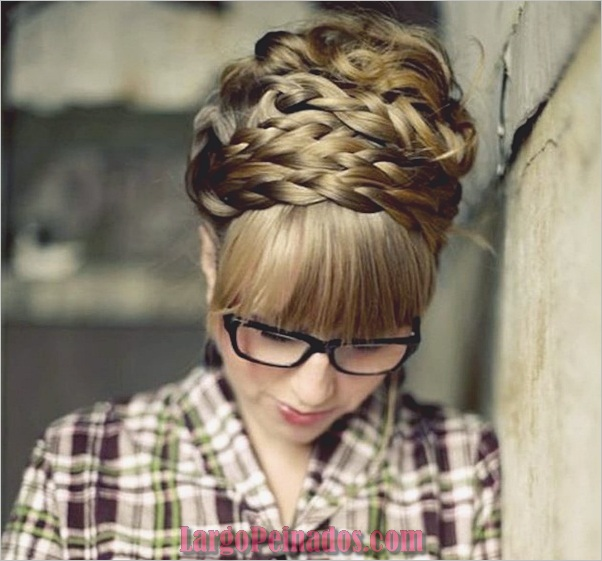 Peinados trenzados simples para cabello largo (2)