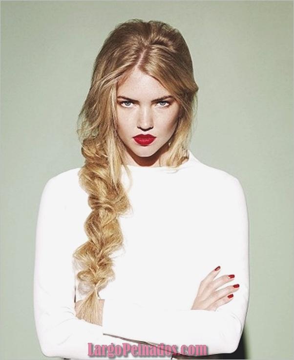 Peinados sucios para cabello largo y corto1 (5)