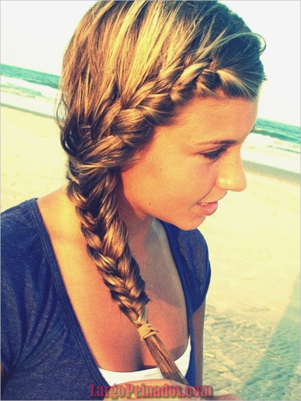 Últimos peinados simples para niñas para la escuela (32) </ p srcset=