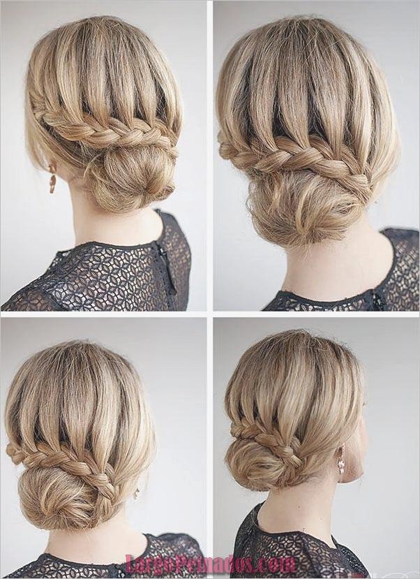 Peinados de Bollo Fácil para Mujeres (3)