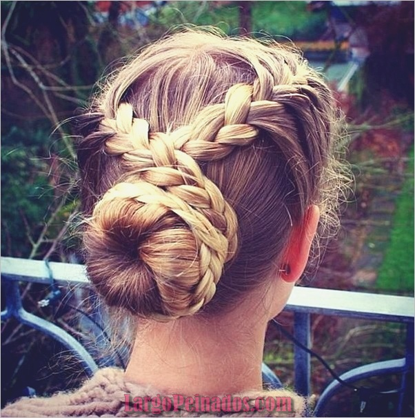 Peinados de Bollo Fácil para Mujeres (9)