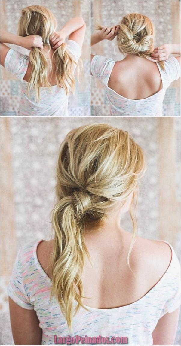 Peinados sucios para cabello largo y corto1 (4)