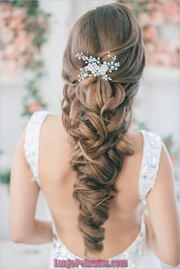Peinados de novia para cabello largo y corto2
