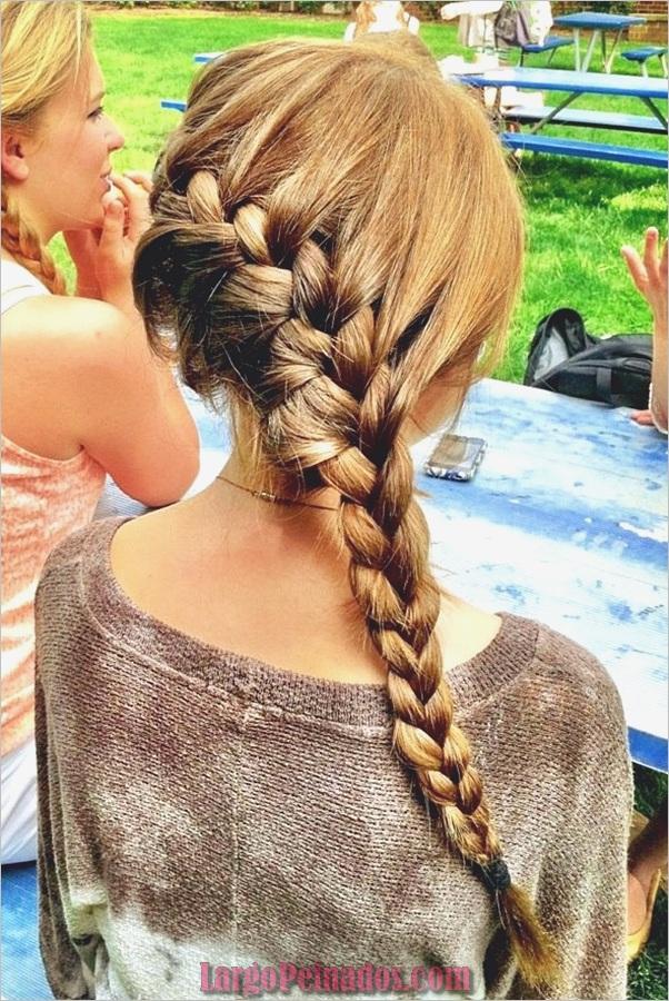 Últimos peinados simples para niñas para la escuela (3)