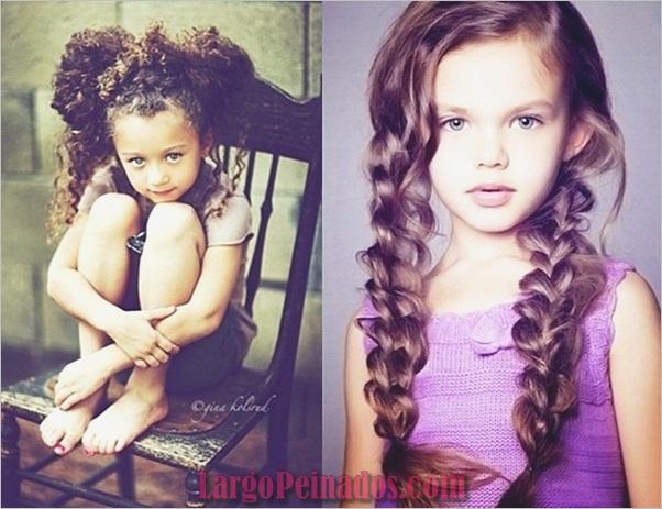 Últimos tipos diferentes de peinados para niñas (6)