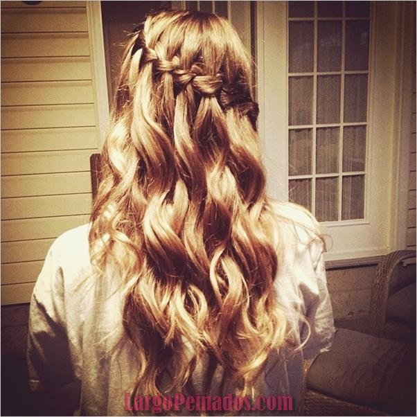 peinados de fiesta para cabello largo-37