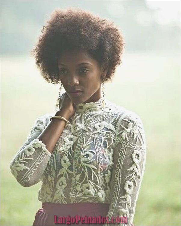 Peinados Rizados Cortos para Mujer Negra (6)