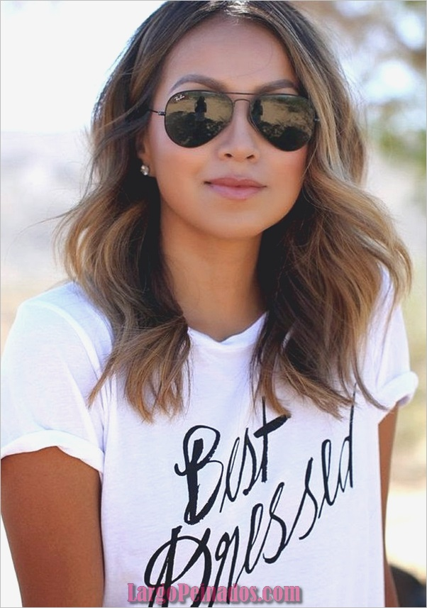 Peinados de longitud media para las mujeres (26)