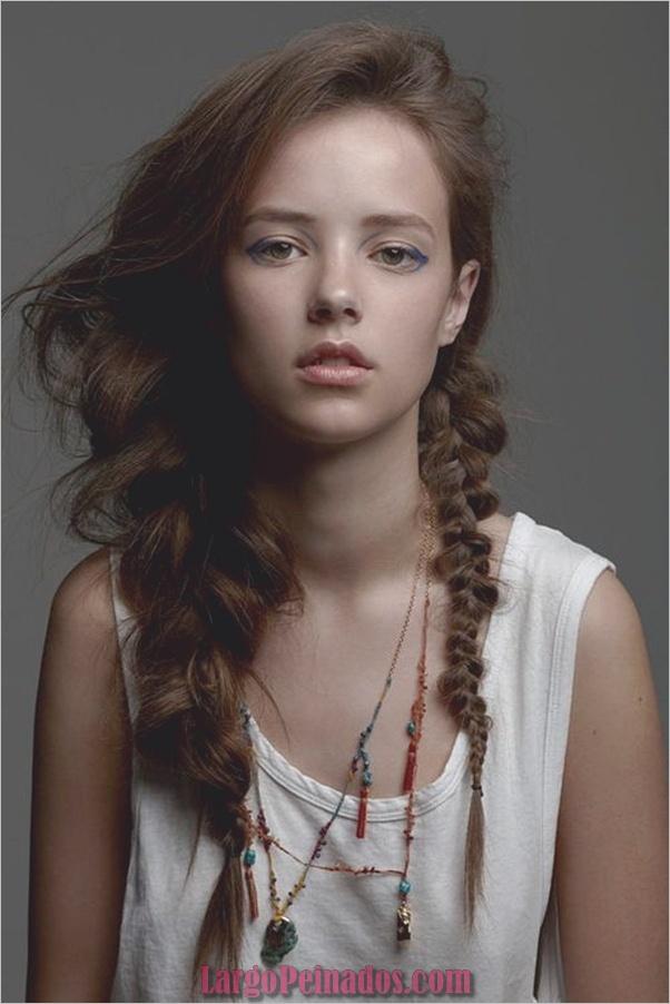Peinados sucios para cabello largo y corto1 (11)
