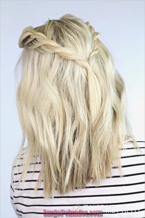 Peinados de longitud media para las mujeres (17)
