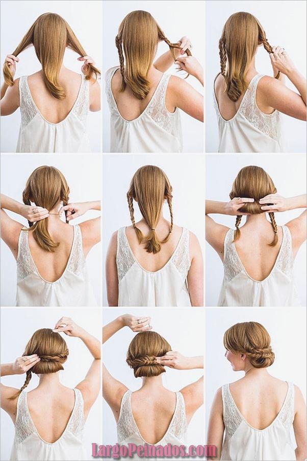 Peinados fáciles paso a paso para cabello largo3