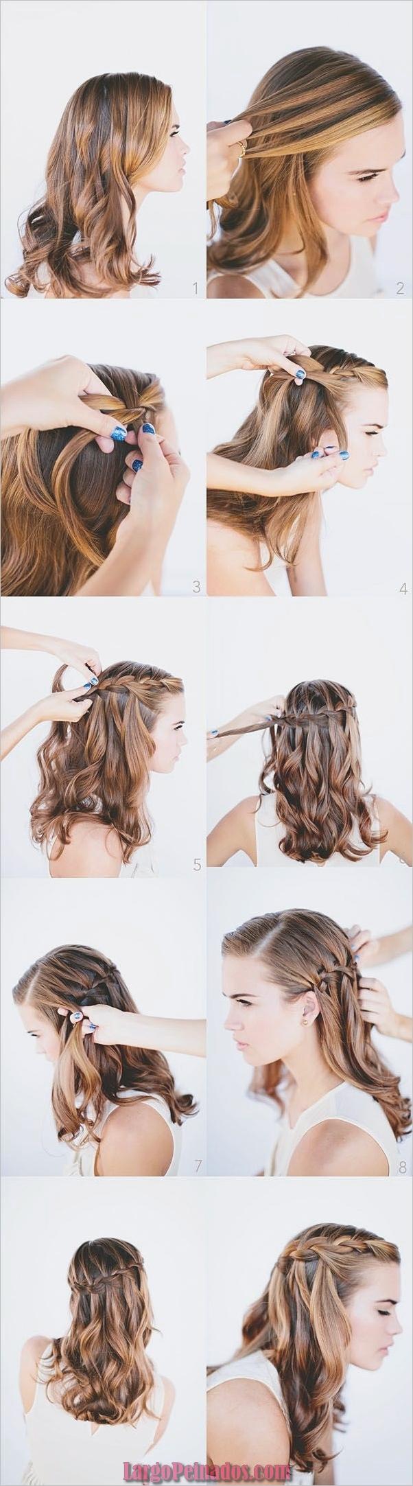 Peinados fáciles paso a paso para cabello largo6