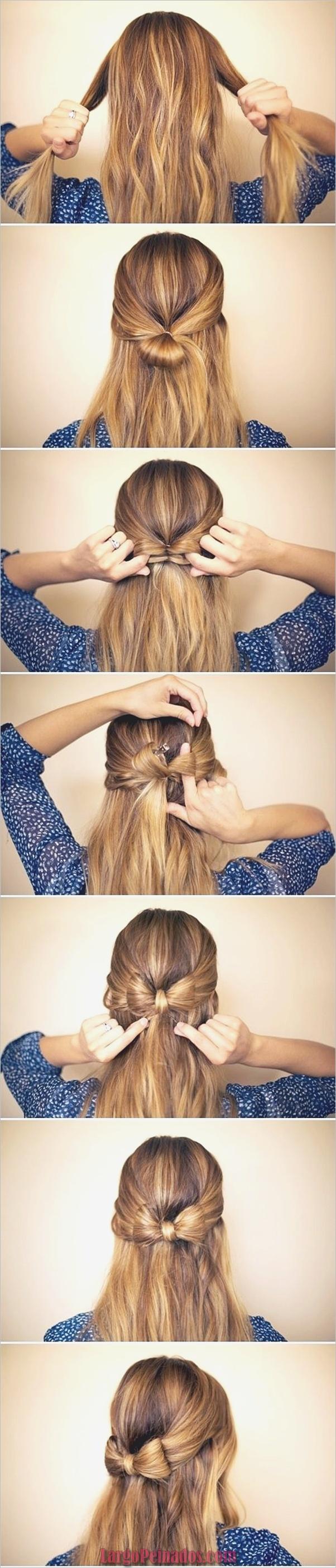 Peinados fáciles paso a paso para cabello largo9