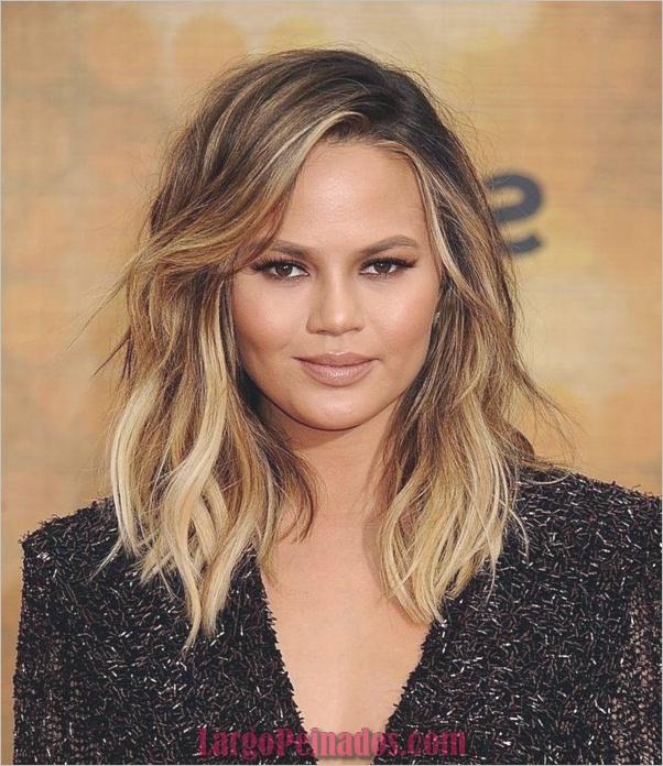bonitos peinados y cortes de pelo para doble barbilla