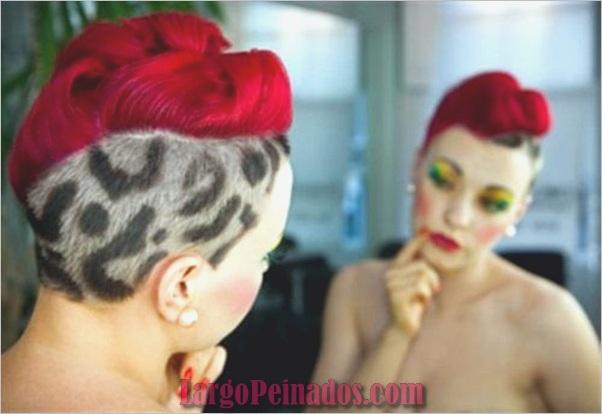 Peinados Mohawk para Mujeres (1)