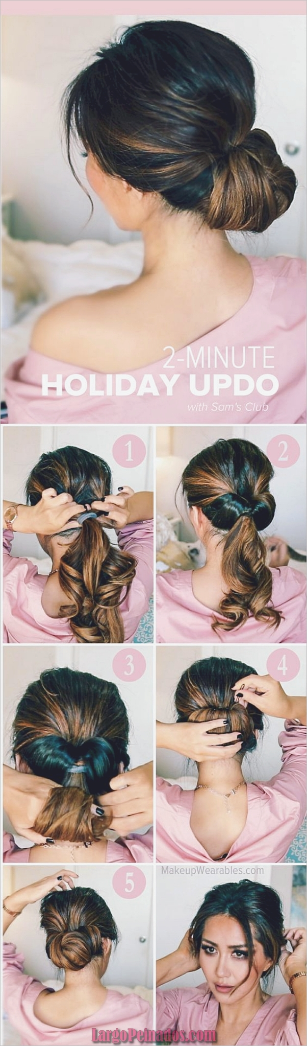 Peinados fáciles para trabajar para comenzar tu día