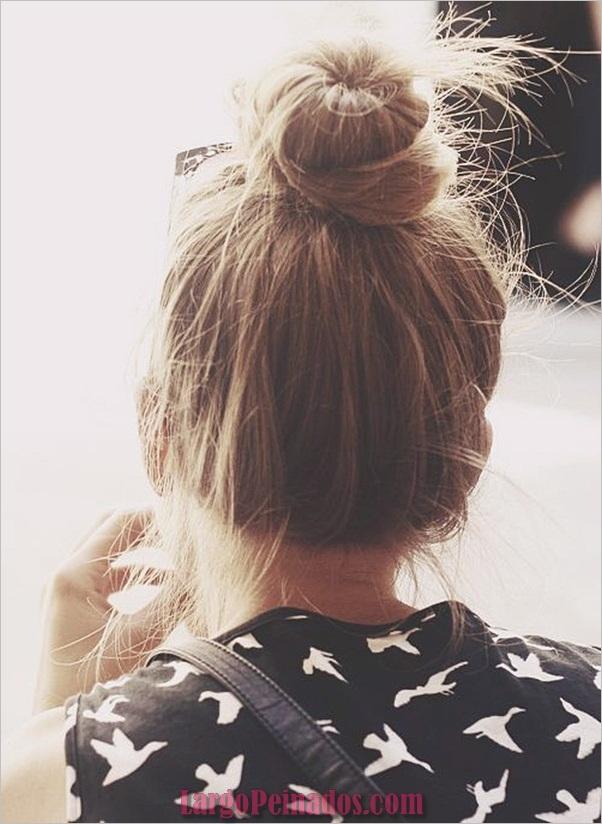 Peinados Easy Bun para Mujeres (6)