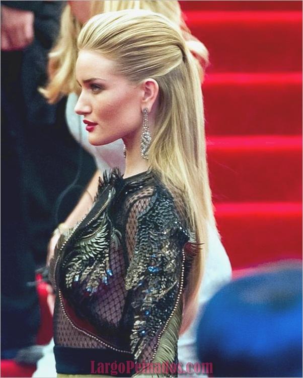 Peinados de longitud media para las mujeres (2)