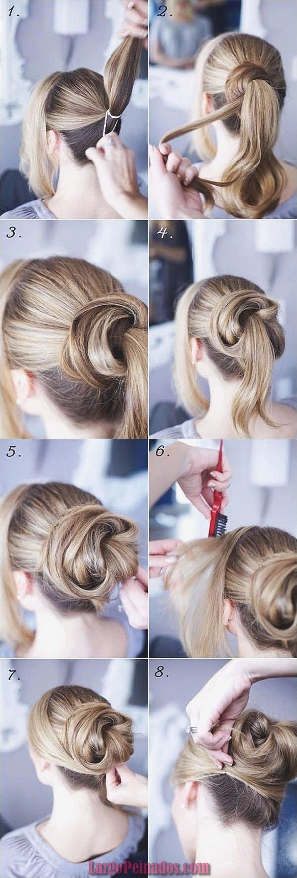 Peinados fáciles paso a paso para cabello largo5