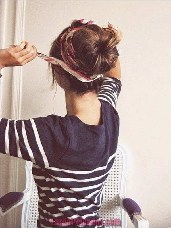 Peinados de Bollo Fácil para Mujeres (24)