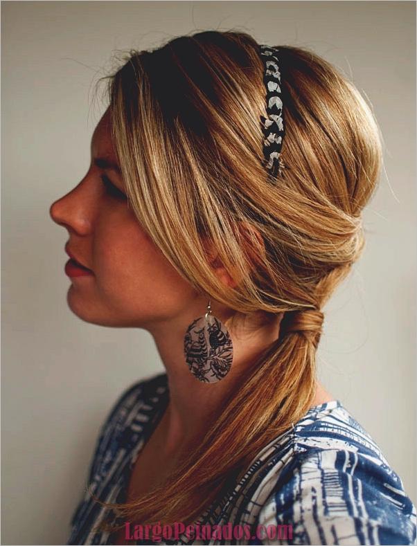 Peinados de cola de caballo laterales atractivos para niñas (3)